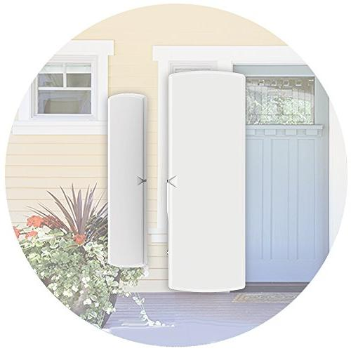 WD-MT and SkylinkNet Alarm System and M-Series. your Door Window open closed status