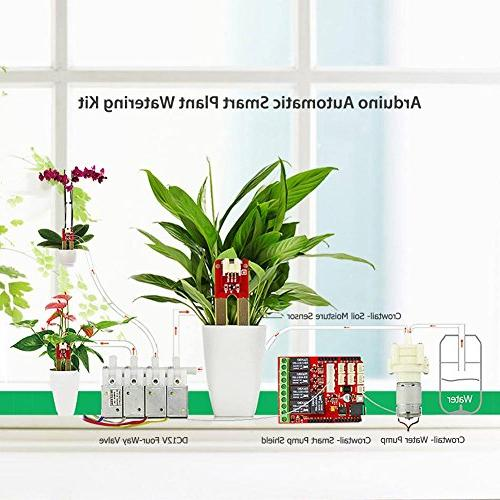 ELECROW AAK90039K Automatic Watering Device Irrigation Garden Patio Flower Herb Potted