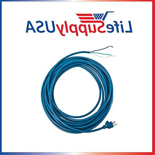 blue 3 wire power cord