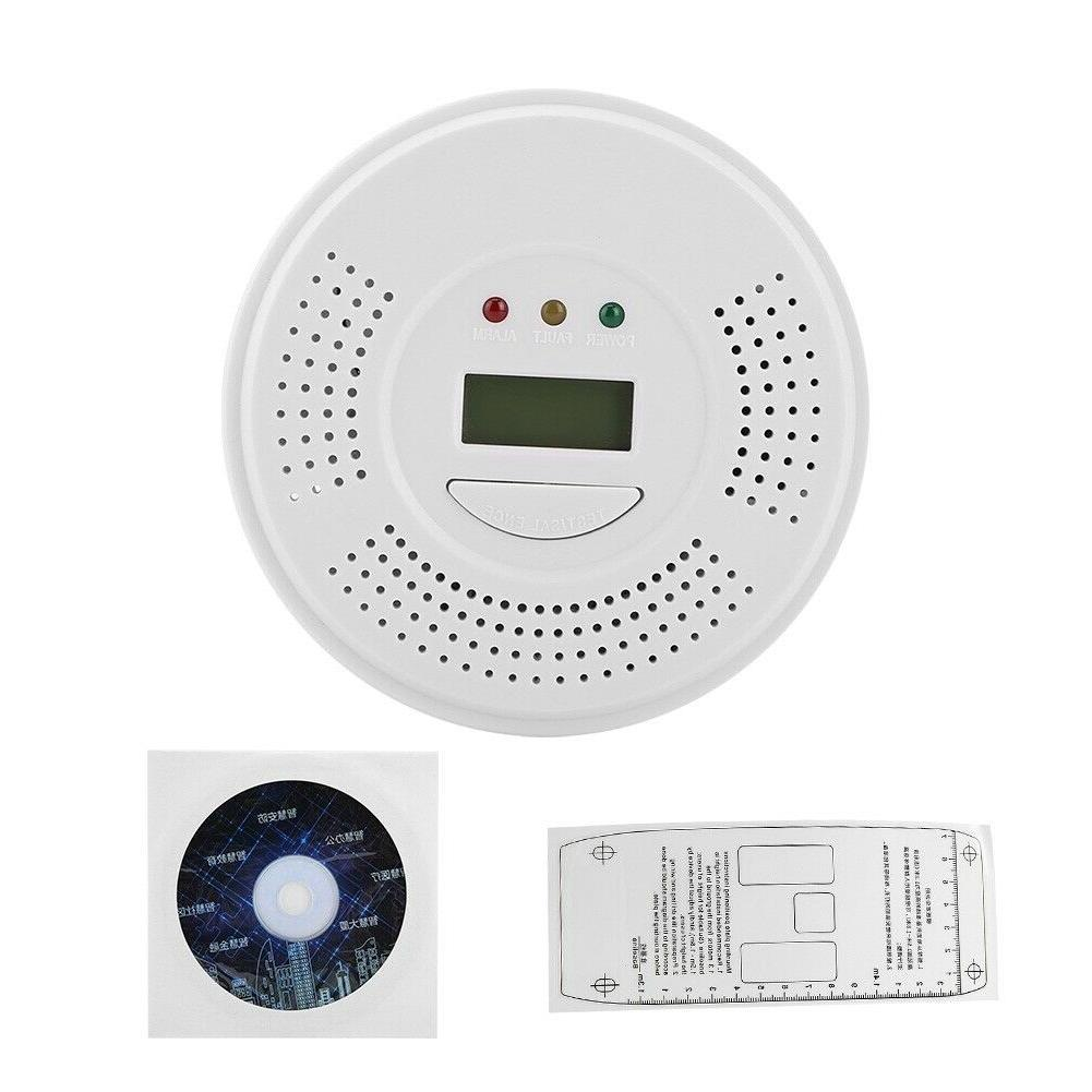 Carbon Detector Alarm Gas Sensor Battery Operated