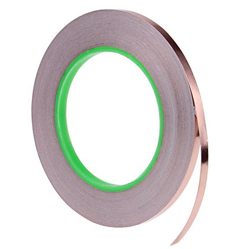 4 Copper Tape,Conductive Adhesive for Shielding,Slug Circuits,Electrical Repairs,Grounding
