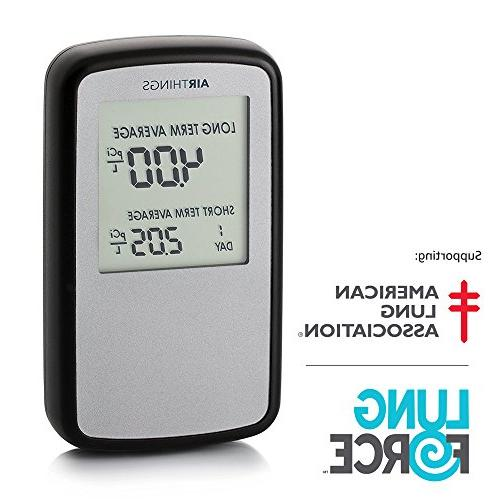 Corentium Home Radon Detector by Portable, Lightweight, Operated, USA Version,