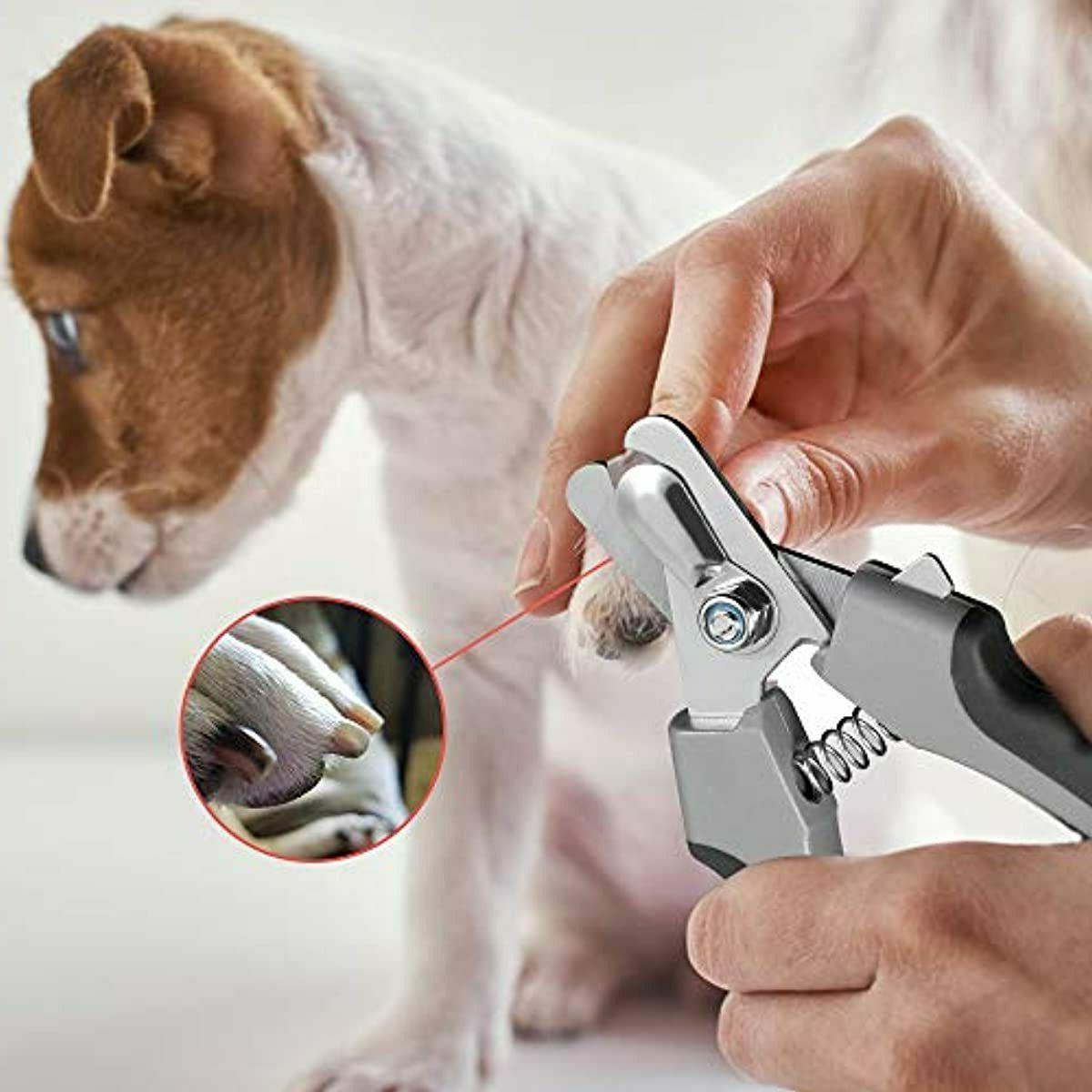 Dog Nail Nail Trimmer Large with Prof