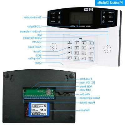 433MHz Wireless GSM Home Security Sensors