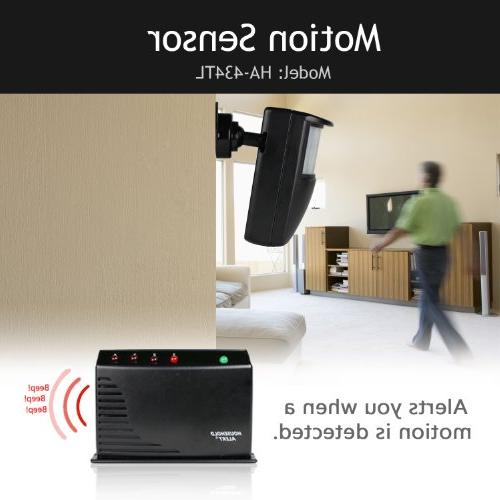 HA-434RTL Home Business Motion Alert and Alarm Outdoor Infrared System Kit
