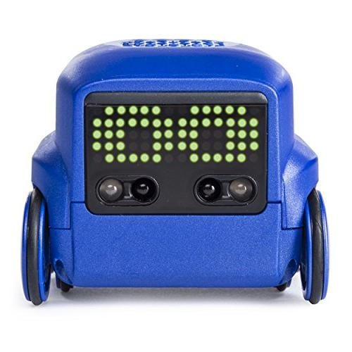 interactive a i robot toy blue