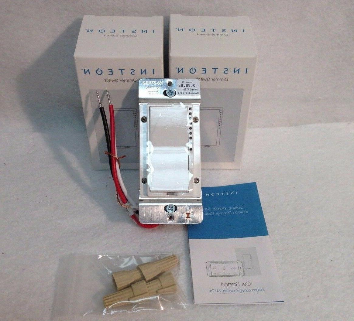 new 2 2477d switchlinc dimmer switches 600w