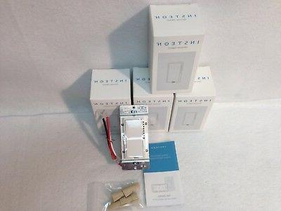 4 Insteon SwitchLinc Dimmer NEW, - White New In