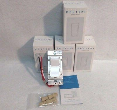 new 4 2477d switchlinc dimmer switches 600w