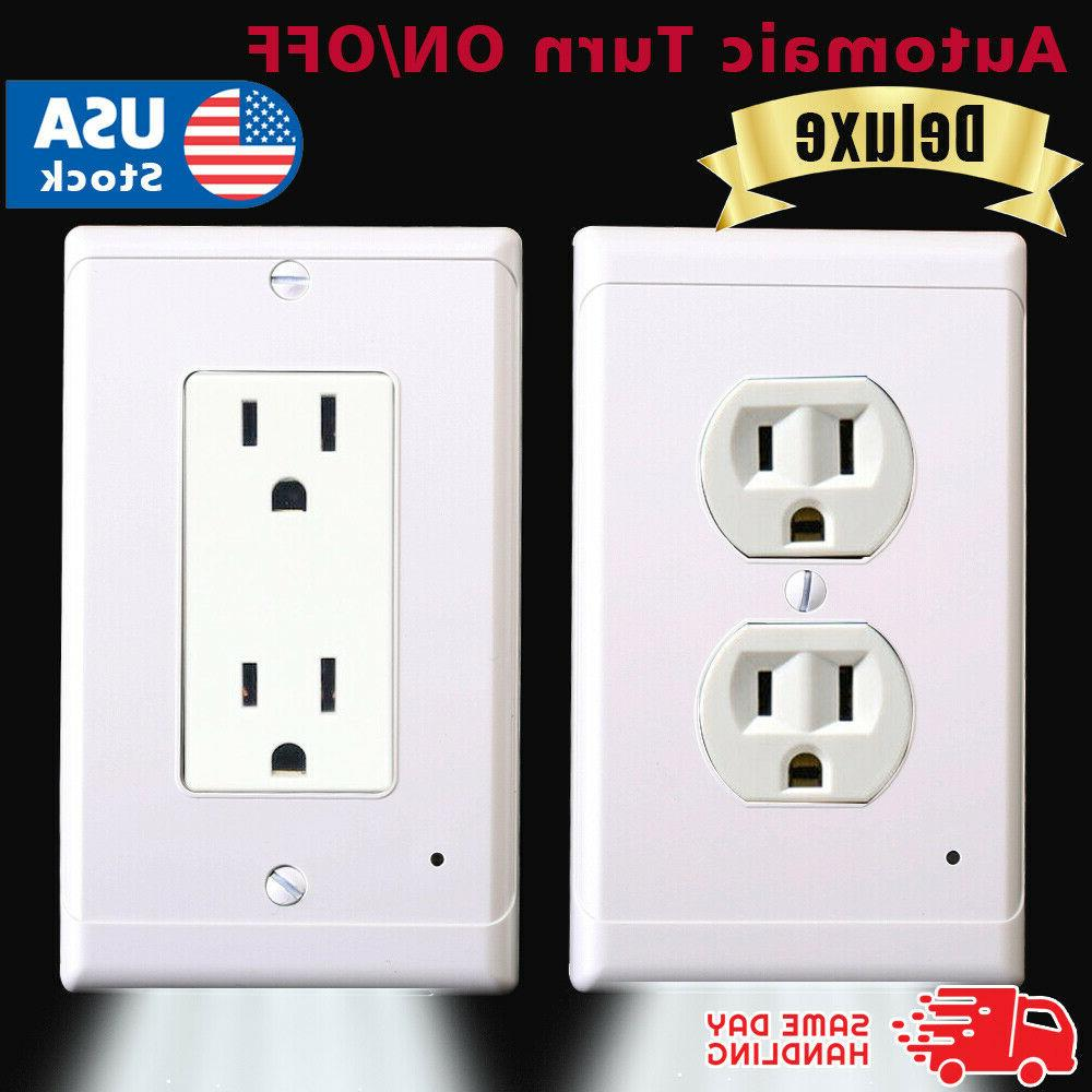 night angel wall outlet cover with sensor