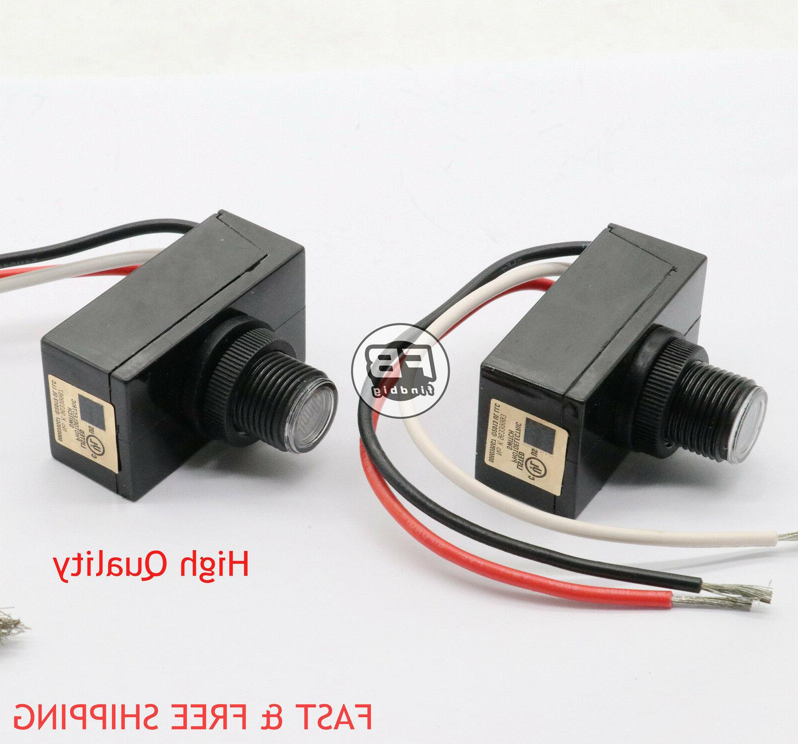 Outdoor Electric Resistor Photocell Light Control Sensor Swi