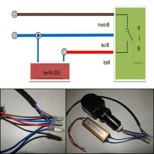 Outdoor Infrared Detector Switch 180°