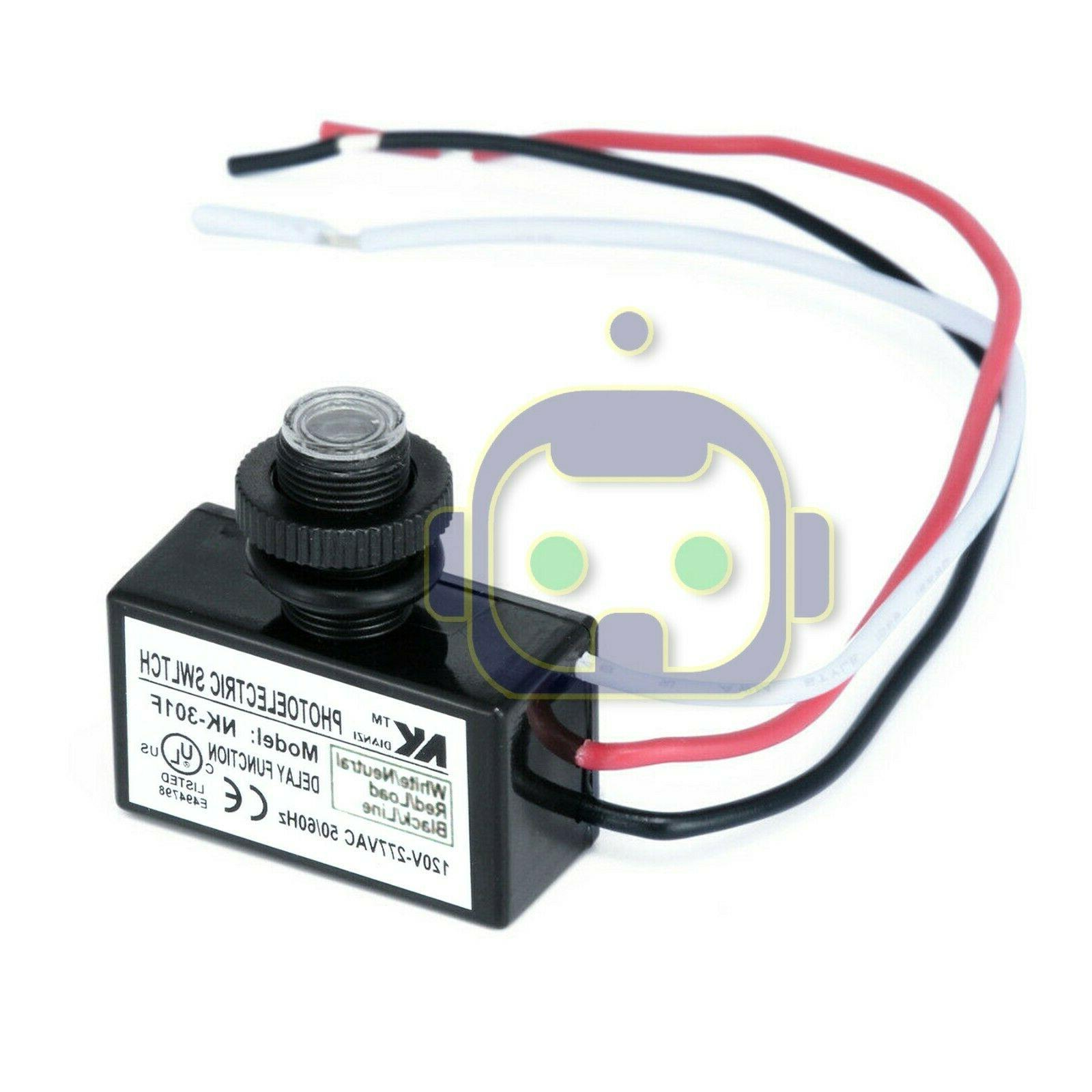 Photoelectric Photocell Dawn Button Photo Control