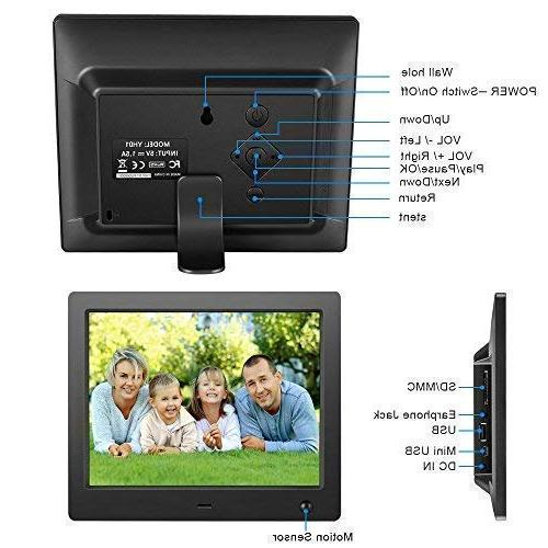 Digital inch Electronic with High Resolution LCD/1080P 720P Video Control
