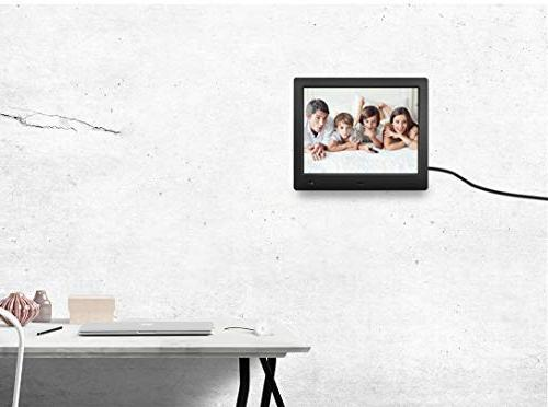 Digital Frame inch with Sensor High Resolution IPS LCD/1080P 720P Video Player/Stereo/MP3/Calendar/Time/Remote Control