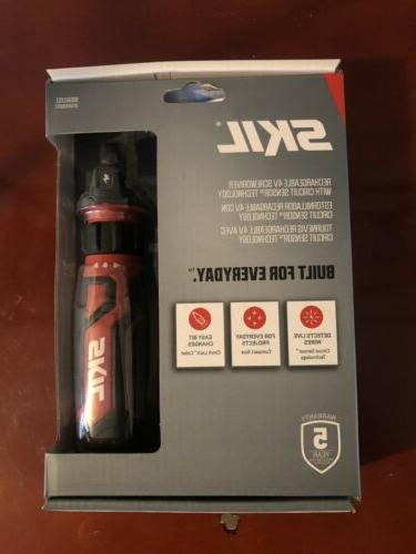 rechargeable 4v cordless screwdriver with circuit sensor