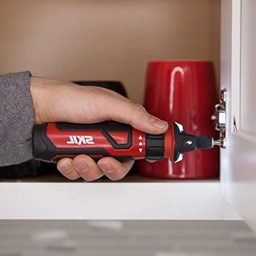 SKIL Rechargeable Cordless Screwdriver with Circuit Sensor Technology - SD561201