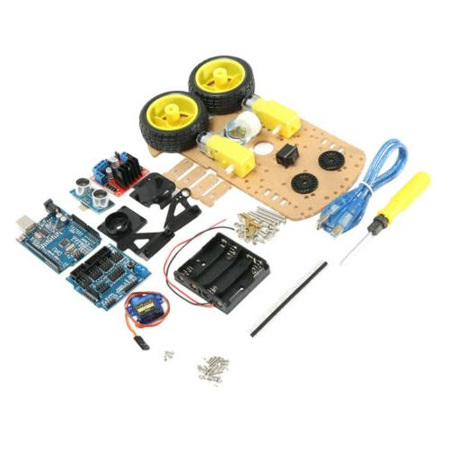 robot car kits multi functional smart ultrasonic