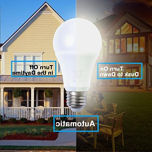 Dusk Bulb LED Bulbs Sensing Lighting Socket Switch Lights 5W