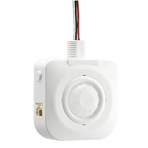 ECOELER UL Bay Degree Occupancy Sensor,120-277VAC,Time Features,Commercial
