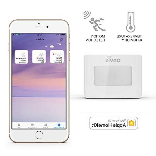 ONVIS Smart With Apple Thermometer Humidity Gauge Siri Trigger iPad