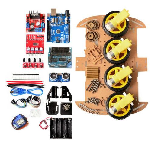 Smart 4WD Chassis DIY Arduino Board