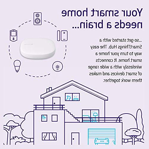 Samsung Generation Hub Home Monitoring Smart Devices Alexa Z-Wave, Cloud to