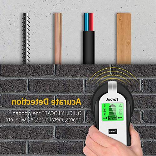 Stud Wall - Electronic Stud Wall Detector Beam Center Finding and LCD Display Wood AC Metal Studs