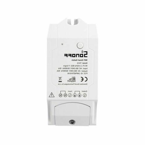 Sonoff Switch Monitoring APP Control