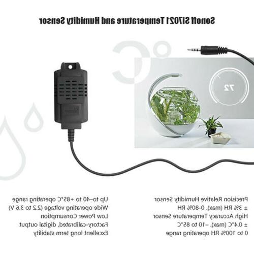 TH10/TH16 Switch Temperature DS18B20/Si7021/AM2301