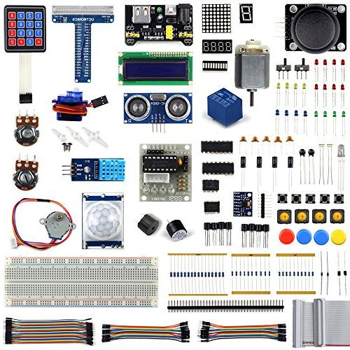 uctronics ultimate starter learning kit raspberry tutorial a