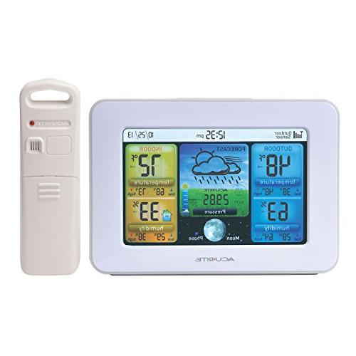 AcuRite Color Station Temperature, Humidity