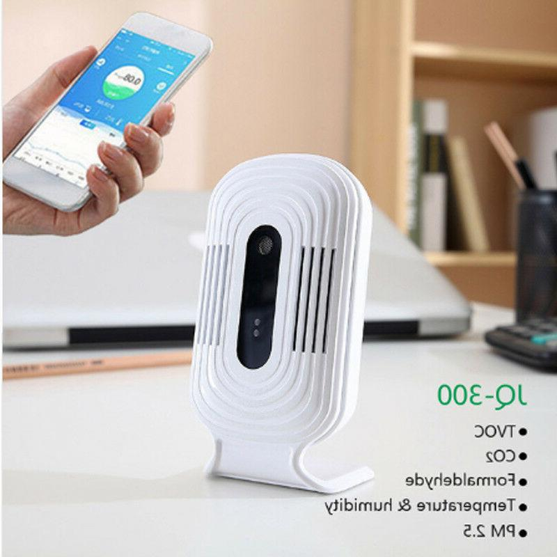wireless air quality tester jq 300 detector