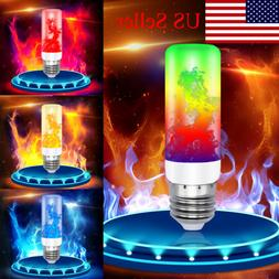 led flame effect fire light bulb 4