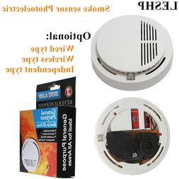 LESHP Photoelectric Type Alarm Security <font><b>Smoke</b></