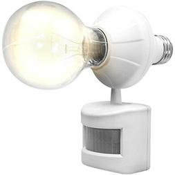 LED Concepts Motion and Dusk to Dawn Sensor Activated Light