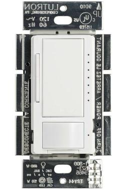 Lutron Motion Sensor, Maestro Dimmer with Occupancy Sensor,