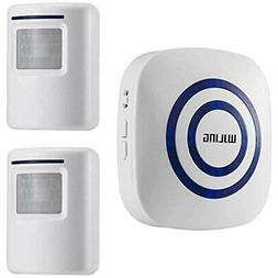 WJLING Motion Sensor Alarm, Wireless Driveway Alert, Home Se