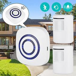 Motion Sensor Doorbell Wireless Driveway Alert Home Alarm w