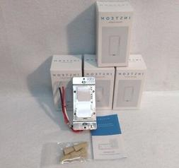 4 Insteon 2477D SwitchLinc Dimmer Switches NEW, 600W - White