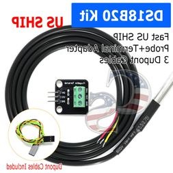 New DS18B20 Thermometer Temperature Sensor Probe Module For