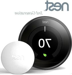 NEW Nest Learning Thermostat 3rd Generation Black with Tempe