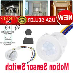 New Led Downlight Motion Sensor Switch Adjustable Ceiling In