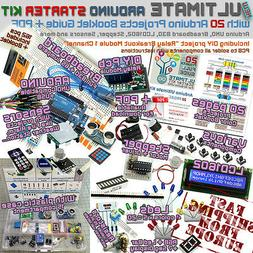 NEW! ULTIMATE Arduino UNO 20 PROJECTS Starter Kit Breadboard
