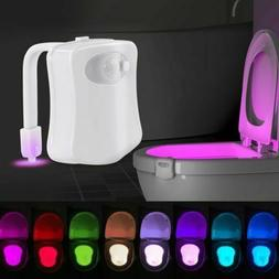 Night 8 Color Toilet Light LED Motion Activated Seat Sensor