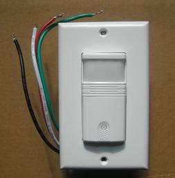 3 Way OCCUPANCY / VACANCY Wall Motion Sensor Detector 120V /
