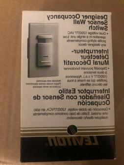 Leviton ODS15-IDW Decora Passive Infrared Wall Switch Occupa