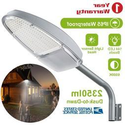 Outdoor Dusk to Dawn Sensor LED Street Light 2350LM Security