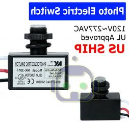 Photoelectric Photocell Dusk to Dawn Button Flush Mount Phot