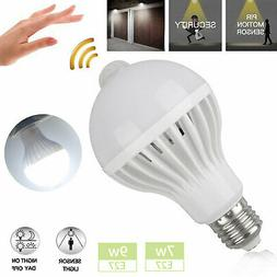 E27 7W 9W Dusk to Dawn Auto Sensor Smart Light Bulb Energy-S